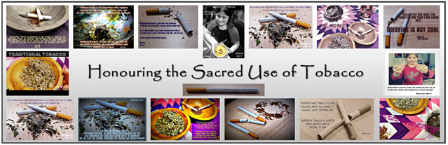 Honoring the sacred use of tobacco