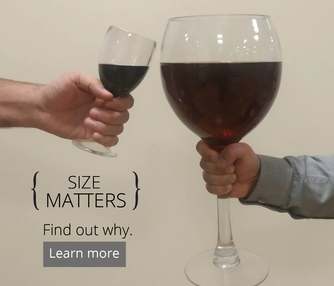 Size Matters. Find out why.