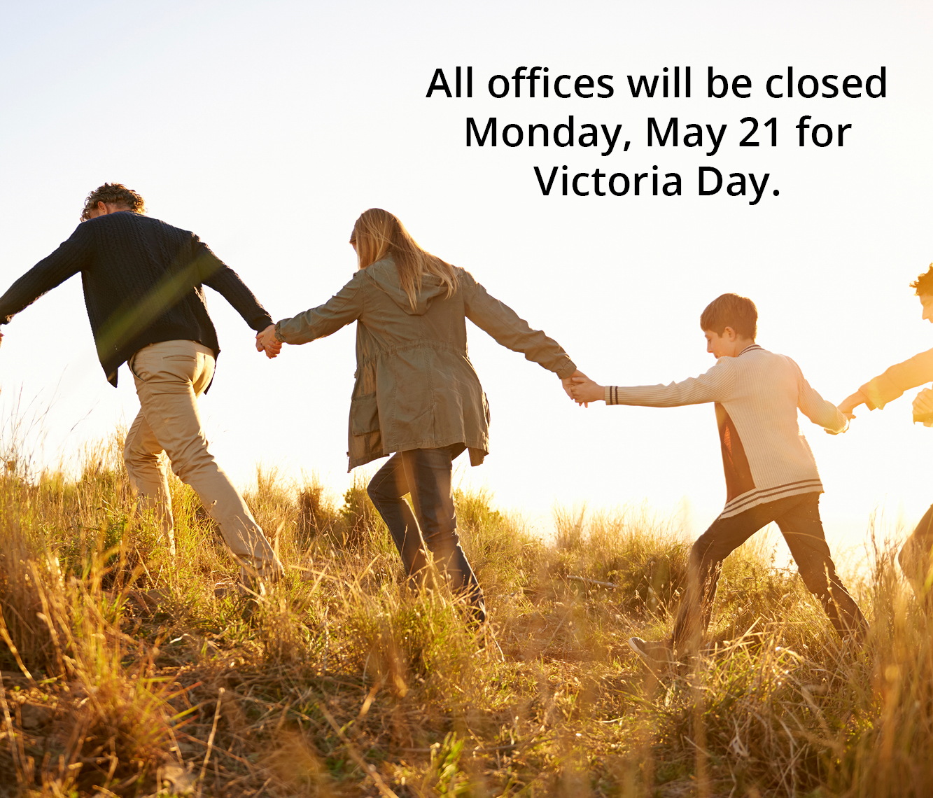 Offices closed for Victoria Day
